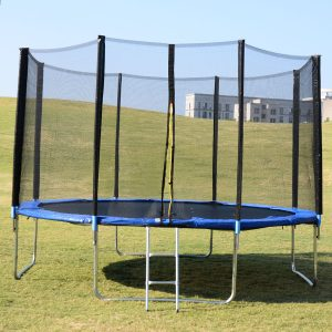 Extraordinary fun guaranteed with spring free trampoline